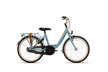 "ALDO 20"" WAVE Fiets mat Blue lake Yellow"